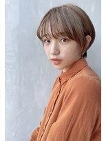 ノットバイベル 大宮(knot by belle)あまカジショート♪オリーブカラー☆