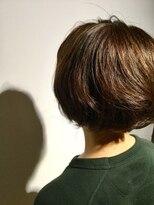 ヘアサロン レア(hair salon lea)【LEA赤羽 東森】ショートボブ グレージュひし形シルエット