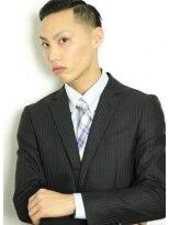 男香るビジネスマンベリーショート