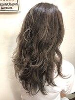 ヘアーアンドメイク ポッシュ 新宿店(HAIR&MAKE POSH)ハイライト*クリーミーブラウン