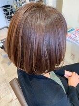 ヘアメイクソエル(hair make Soel)王道☆こなれボブスタイル