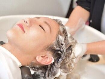 グリー ヘアプロデュース 千葉店(Gree hair produce)の写真/頑張った自分へのご褒美は極上ヘッドスパが◎上質空間で頭皮ケア!日頃の疲れをリセットしませんか?【千葉】