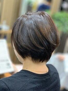 アルファ 深井店(ALPHA)の写真/【深井駅徒歩30秒!!】気になる白髪をしっかりカバーしつつ、カラーも楽しめる!オシャレも楽しみたい方へ☆