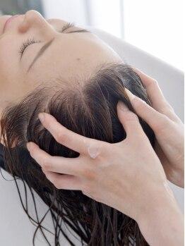 ガーデン フロム イッツ(GARDEN from IT's)の写真/【あなたも眠ってしまうかも】美しい髪は健康な頭皮から!上質なサービスで疲れを癒しましょう☆