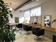 ヘアーサロンハレ(hair salon HALE.)の雰囲気(カットスペース)