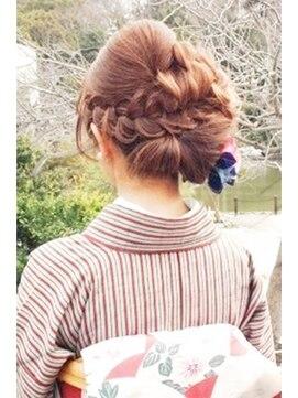 結婚式 和装 髪型 ヘアークークー hair coucou着物☆アップ★