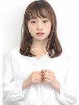 ヘアサロン ガリカ 表参道(hair salon Gallica)『 グレージュ & ワンカール 』ナチュラルミディアム☆