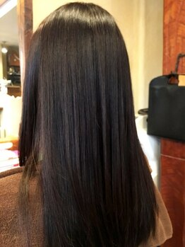 ショップオブシュウの写真/【藤枝駅】大好評☆驚くほど自然な仕上がり!真っ直ぐになりすぎず、扱いやすい髪質に導きます―
