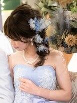 プレスト ベル 三宮 駅前店(Presto belle)【プレストベル】お花たくさん☆サイド編み下ろし