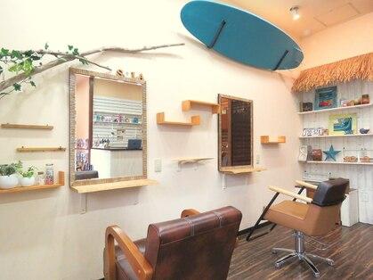 ヘアーサロンソラ hair salon solaの写真
