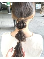 モッズヘア 仙台PARCO店(mod's hair)【奥山】インナーカラーでアレンジ♪