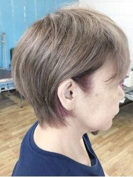 美容室エルカミノの写真/≪大人上品style≫骨格・クセ・髪質を見極め一人ひとりに合わせたバランスに丁寧にカット♪扱いやすさも◎