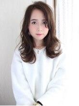 レガロヘアーデザイン(Regalo hair design)Regalo☆大人かわいいオリーブグレージュ外はねセミディ☆