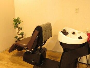 ファブリックヘアデザイン(fabric Hair Design)の写真/<1席/PrivateSalon>熊本で1%の取扱!フランス式「最高峰」オーダーメイドアロマスキャルプスパ#Oggi Otto