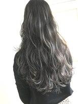 チクロヘアー(Ticro hair)チクロ大石3Dハイライトグレージュ