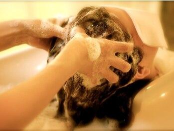 バビ デザイン(Vavi design)の写真/アローブ使用の頭皮クレンジングで健やかな髪と頭皮へ*思わず眠ってしまいそうな癒しの時間をお届け◇