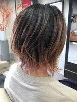 コレット ヘアー 大通(Colette hair)ピンクハイライト