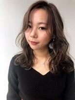 ナンブウエスト(nambu-WEST)オトナ女子人気!3Dハイライト×THROWカラー アッシュグレージュ
