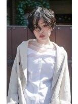 マウロア(MAULOA)【Mauloa】ハンサムショート ベリーショート パーマ 黒髪 小顔