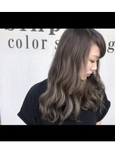シンプル カラーショップアンドグッズ(sinple color shop&goods)N.color フォギーアッシュ x モノトーン