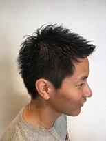 フェリーク ヘアサロン(Feerique hair salon)ナチュラルツーブロックアップバング