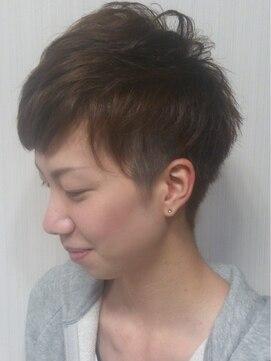 ボーイッシュカット 髪型