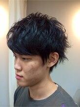 ヘアアンドライフ ゴースリー(HAIR&LIFE GO 3)ウィービングパーマで魅せる!ショートマッシュ☆