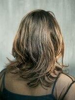 ジュール 銀座 ヘアラウンジ(Joule Hair Lounge)ハイライトバレ×くびれレイヤーミディ [銀座]
