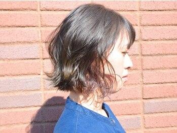 """アルベレットオブヘア (arBellet of hair)の写真/透明感バツグンの""""イルミナ""""取扱い♪自然と溶け込むナチュラルな光沢感でトレンドに合わせた理想の色味に。"""