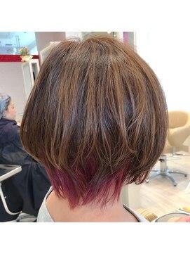 ビス ヘア アンド ビューティー 西新井店(Vis Hair&Beauty)インナーカラー/ウルフ/ネオウルフ/マッシュウルフ/ひし形
