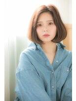 大泉学園【omorfi 】つや髪×Aラインボブ