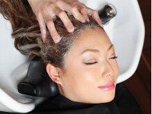 ルッソ ヘアーアンドヒーリングサロン(LUSSO hair&healing salon)の雰囲気(個室空間のLUSSOでゆったりと寛ぎながらのシャスパで至福の時間)
