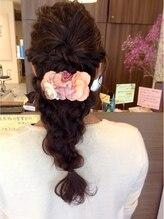 ハートライン(hair bridal Heart Line)セット