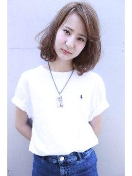 ラベリー(LOVELEY)LOVELEY サーフミディアム ミルクティーカラー ☆ 491
