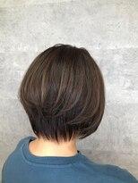 グランジュテ ヘアアンドスパ 新検見川(GRAND JETE Hair&Spa)ショートボブ [岩井麻由美]