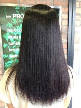 ラ カスタ 髪飛行切(La CASTA)の写真/アミノ酸トリートメントで髪内部から輝く美髪へ導きます☆髪の内側&外側から徹底的に補修してお悩み解消♪