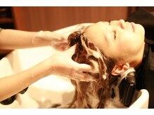 リミットヘアー 大在店(Remit hair)の雰囲気(気持ちのいいシャンプー台でゆっくりお過ごしください。)
