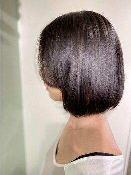 フィルビー(Phil be)の写真/話題のTOKIOトリートメント取り扱い◎カラーやパーマで傷んだ髪のダメージを補修し、毛先まで潤う美髪に♪