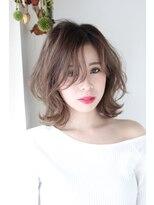 イロドリ ヘアーデザイン(IRODORI hair design)IRODORI ゆるふわ外はねミディアム2 [西尾一寛]