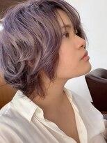 アールピクシー(Hair Work's r.Pixy)ハイトーンアメジストカラー