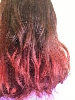 """ヘアー アディクション アイディーアール(hair addiction IDeaR)の写真/立体感と透明感のあるカラーは""""hairaddictionIDeaR""""で♪うる艶な仕上がりで女子力UP★"""
