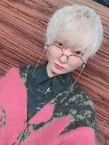 ロコマーケット 下北沢店(hair meke Deco.Tokyo)ホワイトマッシュスタイル