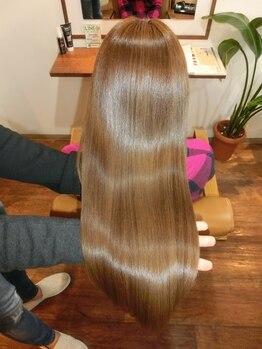 ブルームヘア 大宮(Bloom hair)の写真/【大宮駅東口】講師も務める実力派サロン!埼玉で希少なM3D認定サロンが提案するM3Dピコカラーで艶髪に。