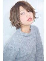 【morio池袋】大人かわいい小顔フェアリーショートボブ#
