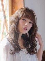 オーブ ヘアー アオヤマ 青山店(AUBE HAIR AOYAMA)重すぎない!透け感&こなれ感パーマスタイル