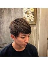 ミモザ MiMoSaスタイリングの簡単なメンズヘア