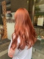 ヴァーチューセカンド(VIRTUE 2ND)(ブリーチあり)韓国風ビビットオレンジカラー