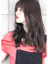 ヘアサロン ガリカ 表参道(hair salon Gallica)☆ グレージュ & 毛束感 ☆ オン眉 小顔セミロング ☆