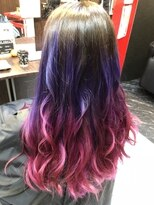 purple × pink