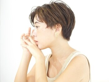 レンジシアオヤマ(RENJISHI AOYAMA)の写真/【表参道/青山】業界TOPのカット技術!とにかくショートが上手い!!360°どこから見ても美フォルムショート☆
